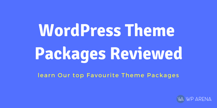 My Favorite 3 WordPress Theme Packages Reviewed