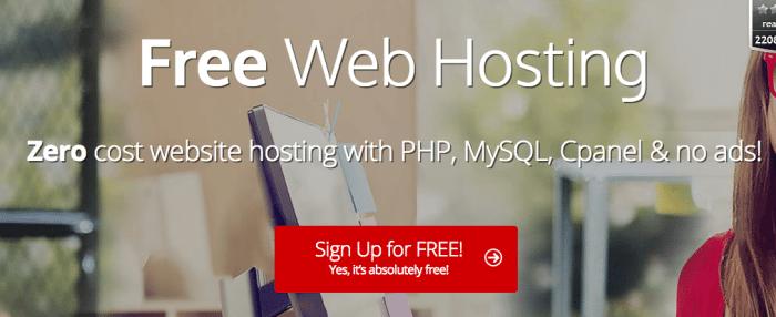 000WebHost Free Web Hosting