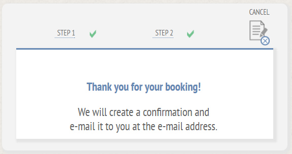 ReDi Restaurant Booking Confirmation