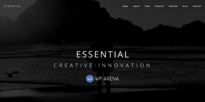 Essential – The Minimalist WordPress Theme Review