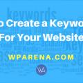keyword list
