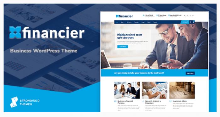 Financier Theme Review