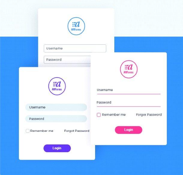 ARForms Custom Design Forms