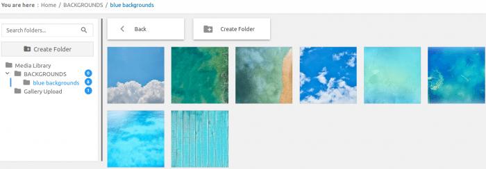 WP Media Folder file explorer with tree view