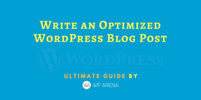 optimize wordpress blog post