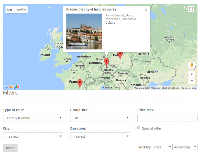 toolset maps plugin example