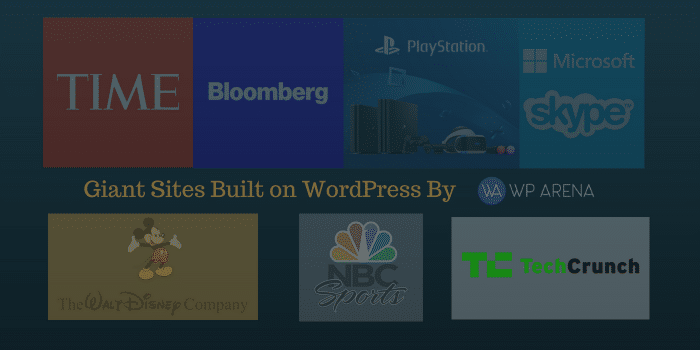 Giant Sites Built on WordPress