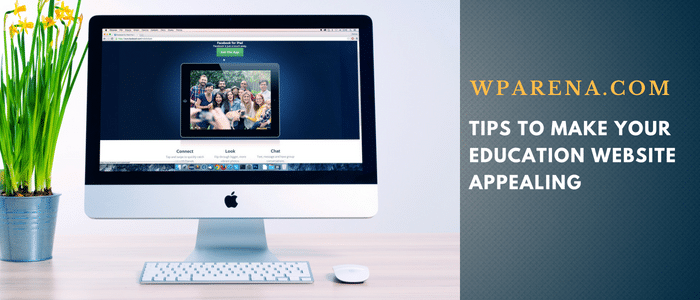 Make Education Website Appealing