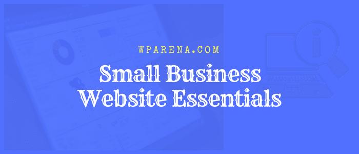 Small Business Website Essentials