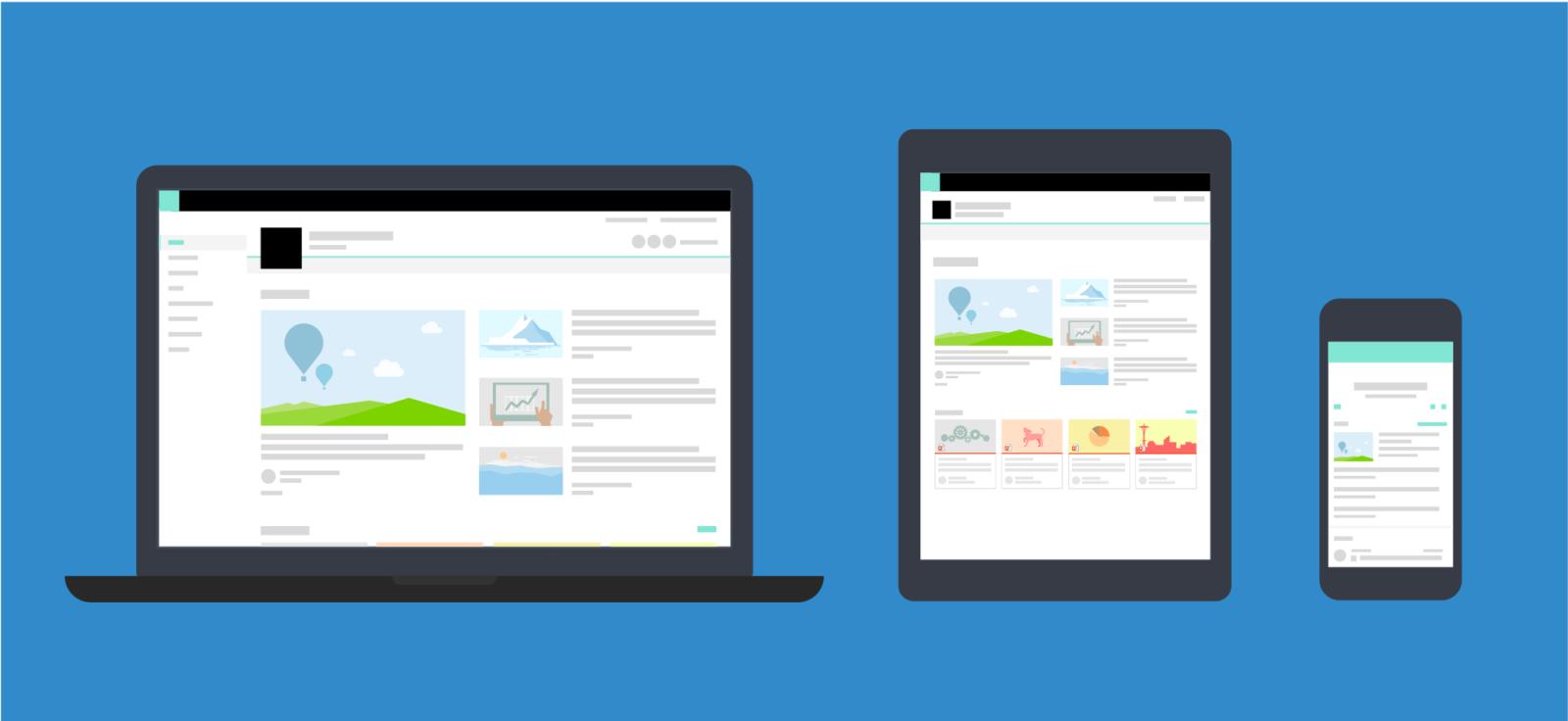 Responsive Mobile WordPress site