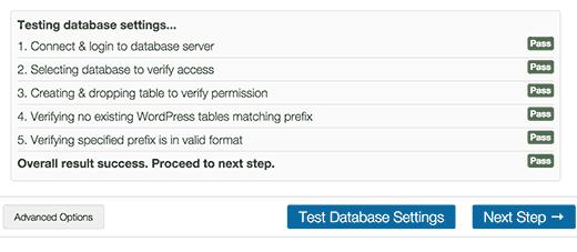 Backup Buddy Database Testing