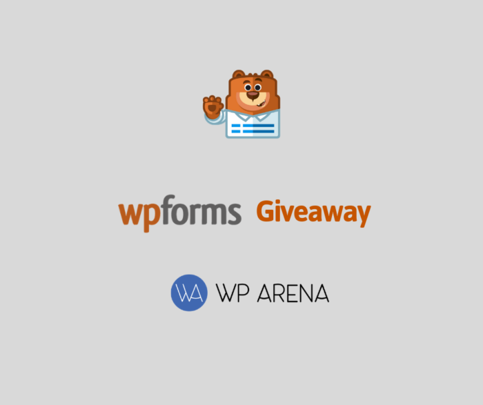WPForms Giveaway: The best we can do for you This Black Friday (3