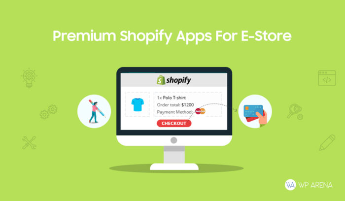 Shopify e-commerce store Apps