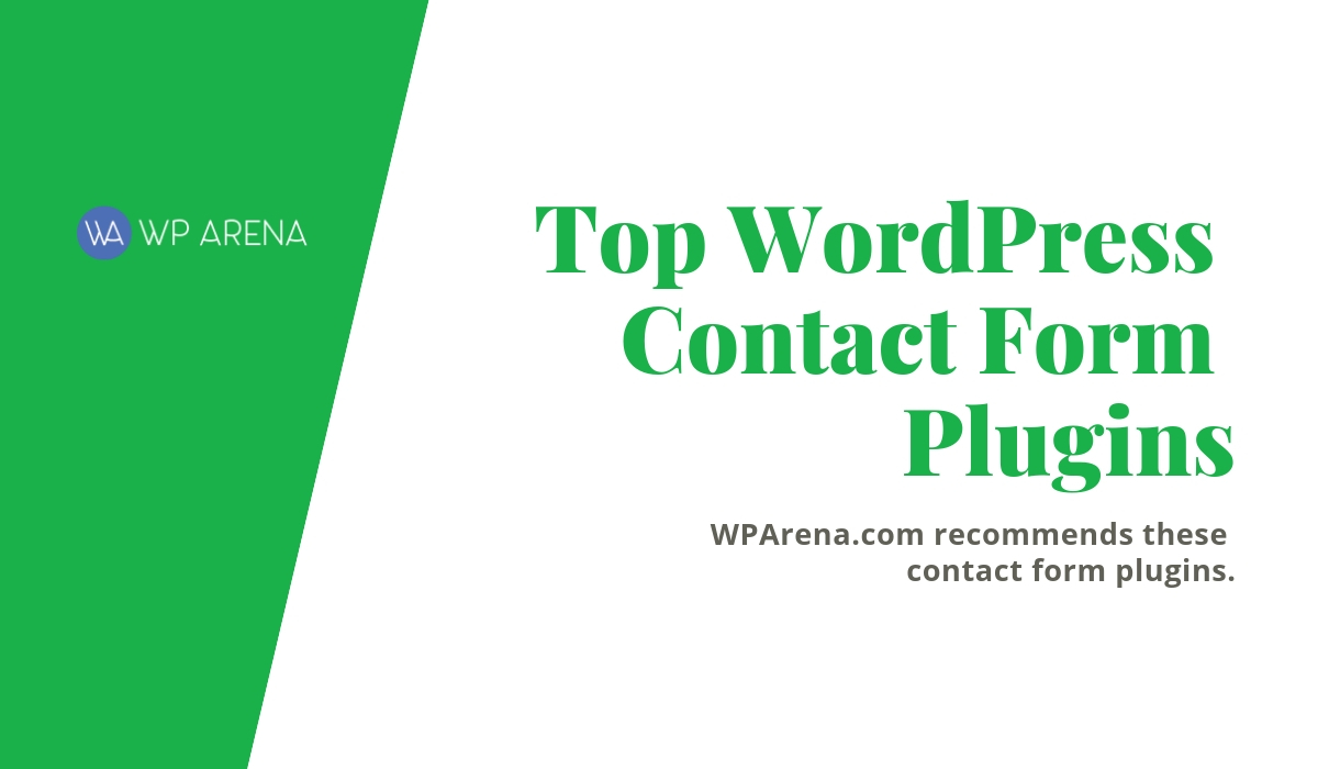 Top WordPress Contact Form Plugins