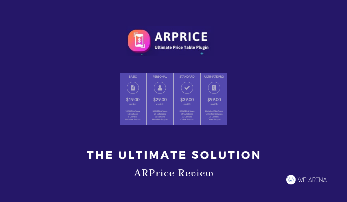 ARPrice Review