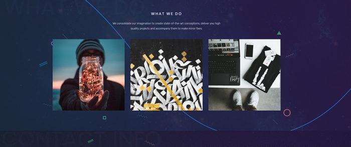 A screenshot of a website