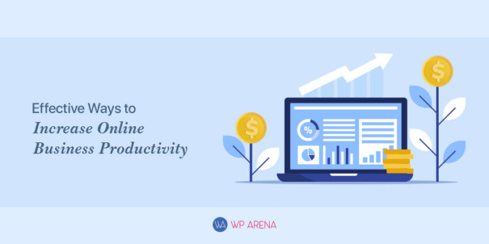 A design for increasing business productivity