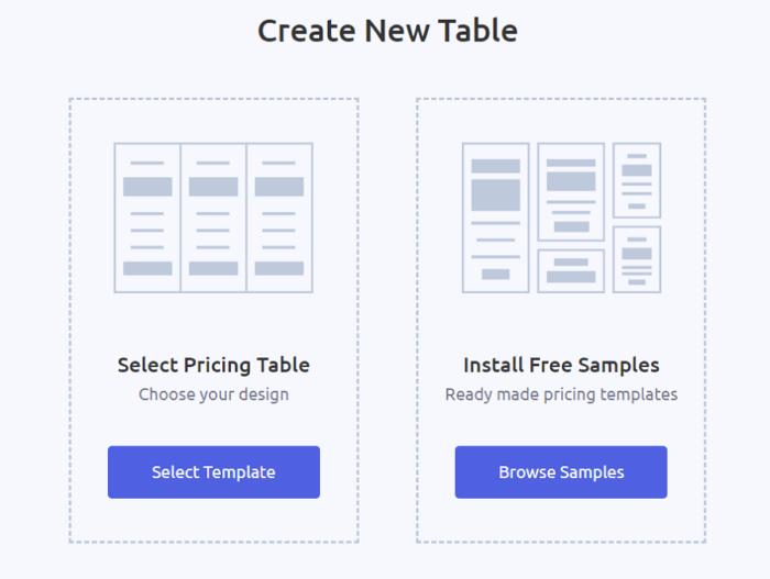 ARPrice Create New Table