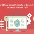 A featured image for WordPress security tips