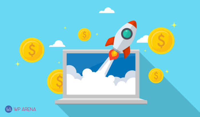 A featured image design for tips to save money for startups
