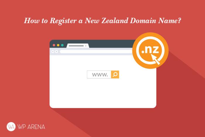 register a New Zealand .nz domain