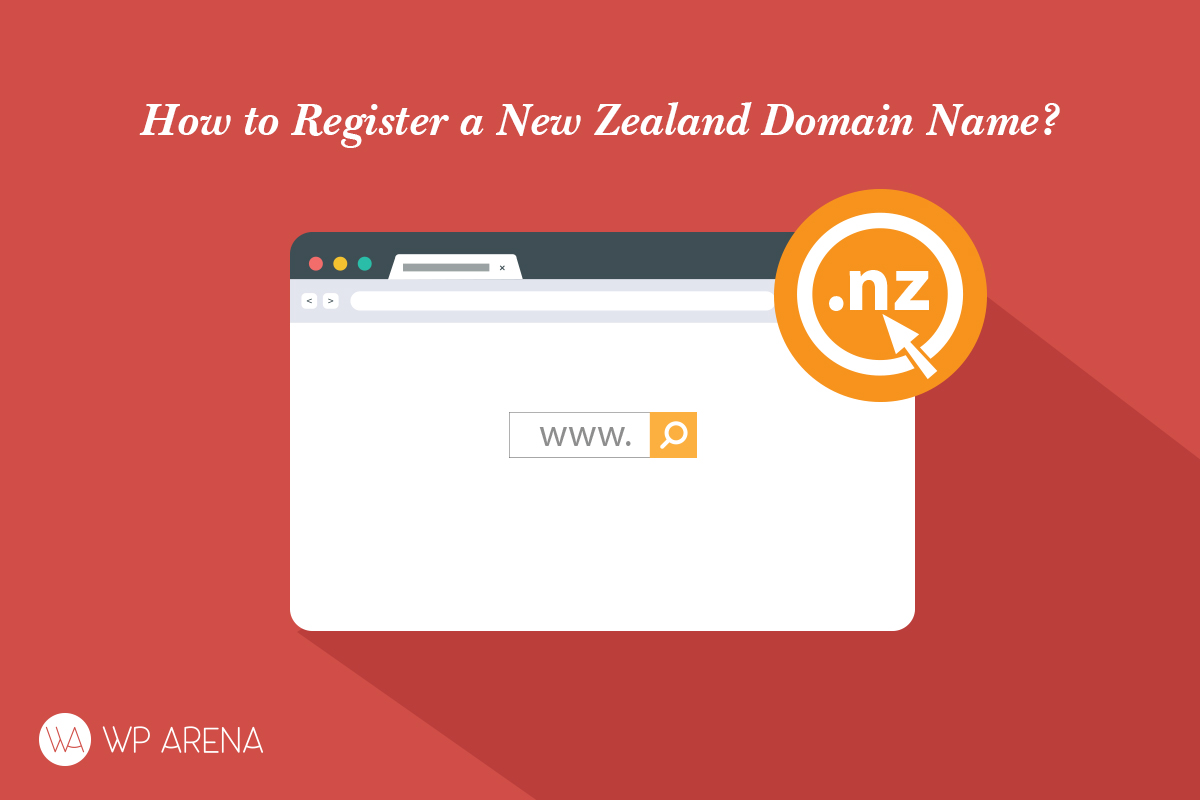 register a New Zealand .nz domain