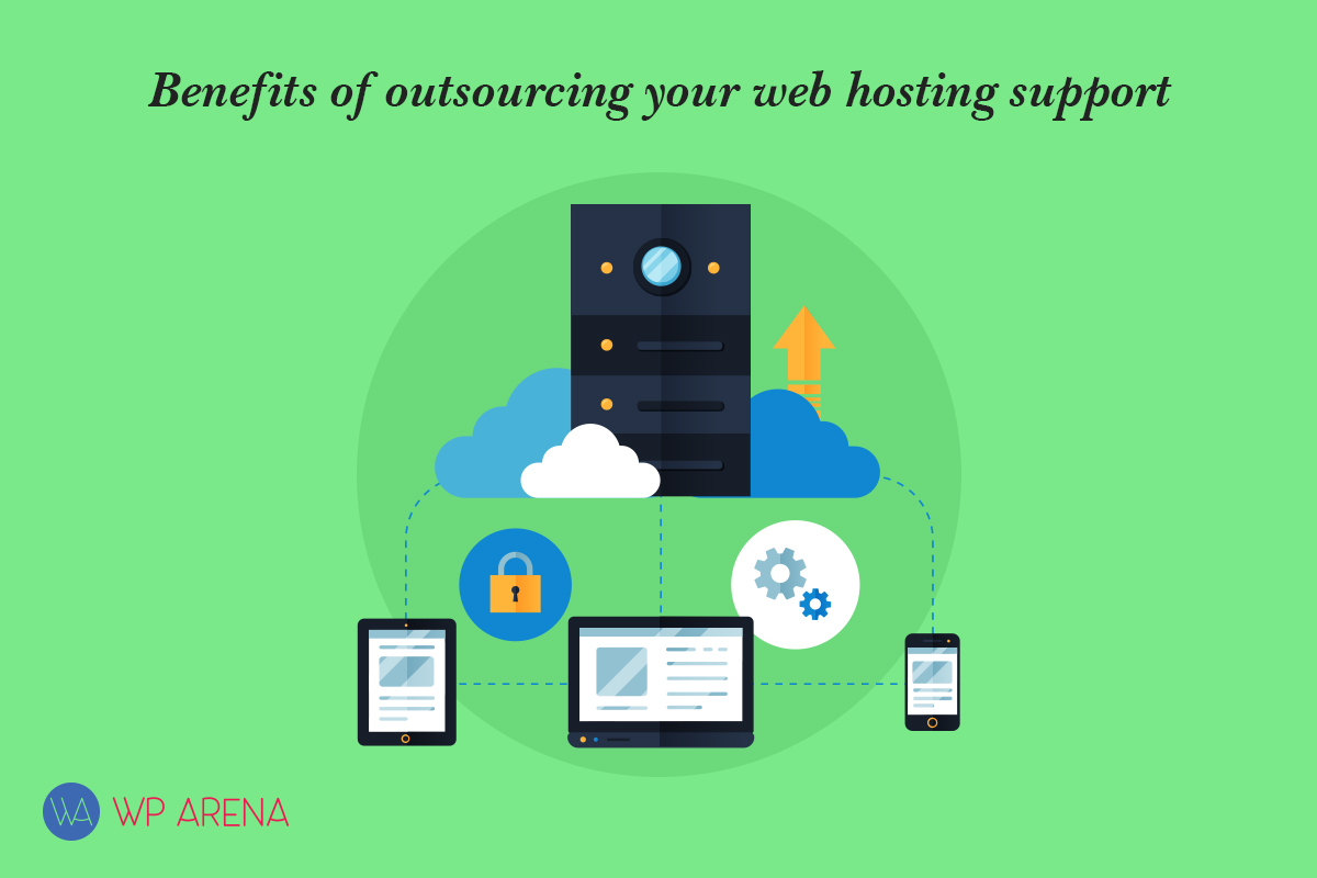 outsourcing web hosting support benefits