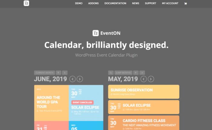 eventon booking plugin