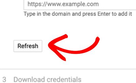 refresh credentials