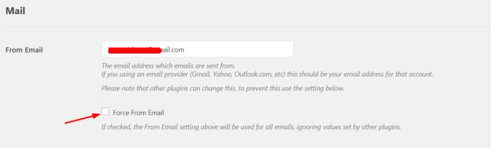 smtp from email