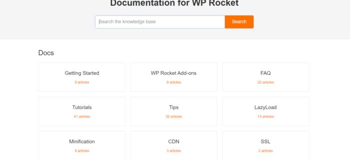 wp rocket documentation