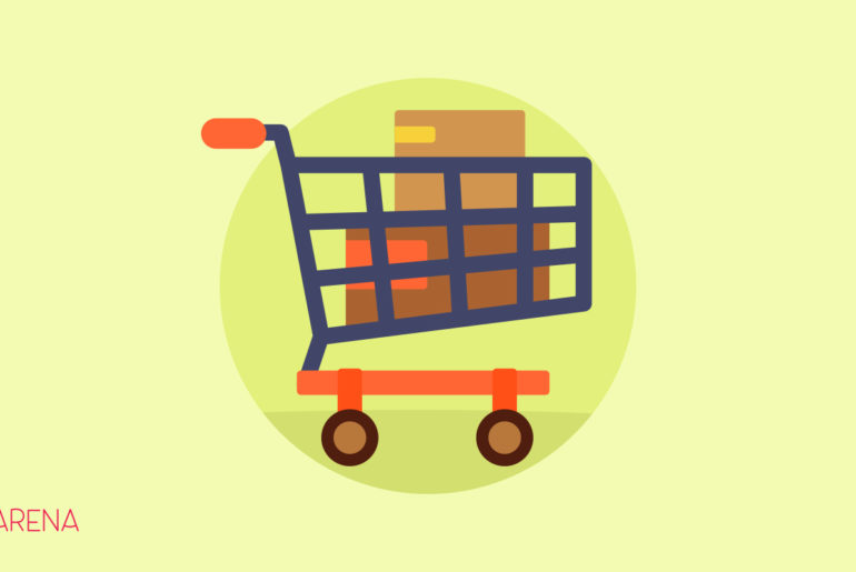 An illustration of cart on WpArena featured image