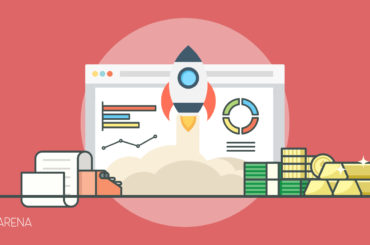 A featured image design of seo marketing tips