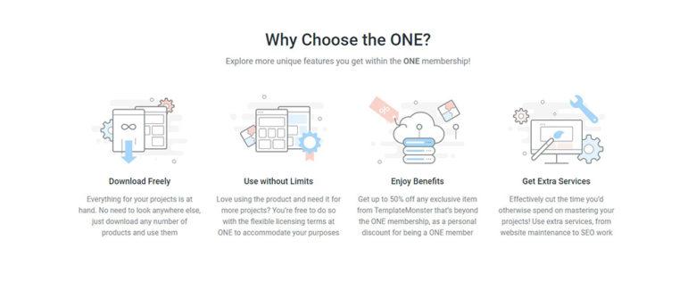why choose the ONE membership