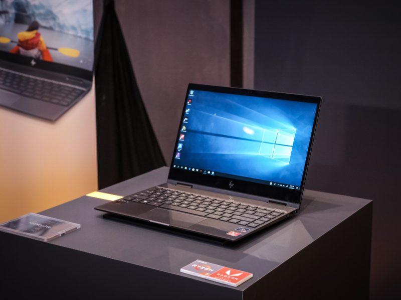 A photo of a laptop running Windows 10