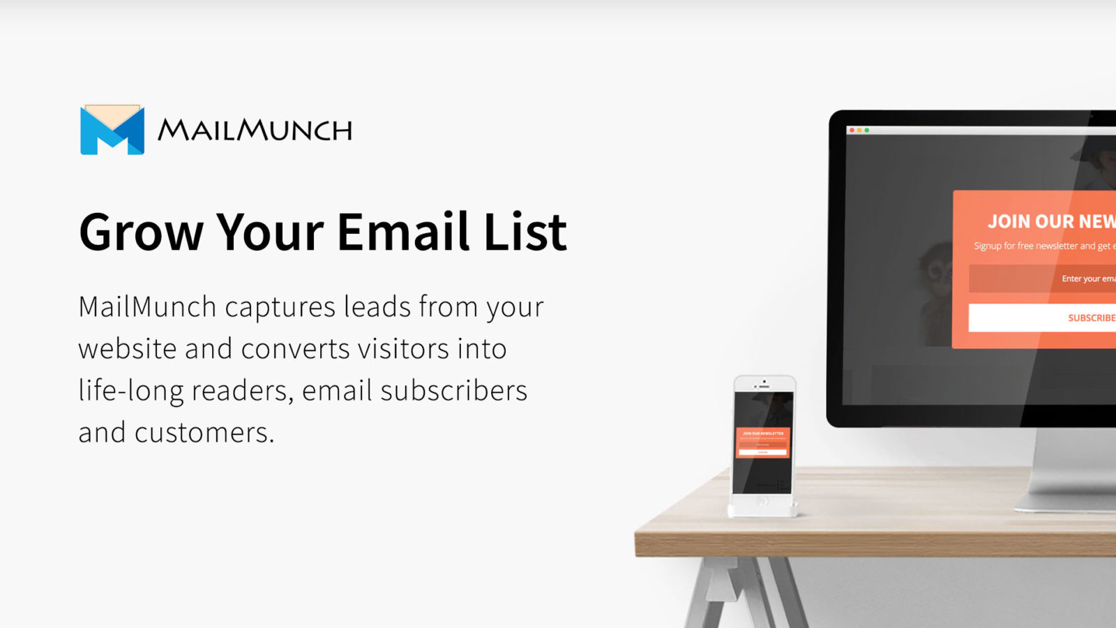 MailMunch Email Newsletter plugin