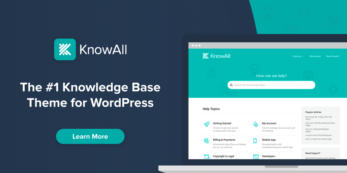 KnowAll website screenshot