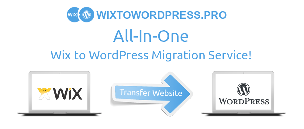 Wix to WordPress transfer