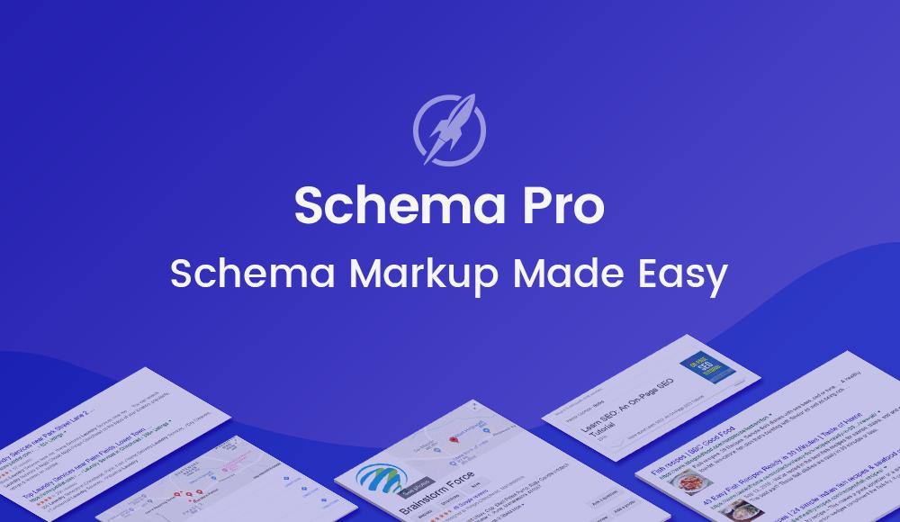 schema pro markup made easy