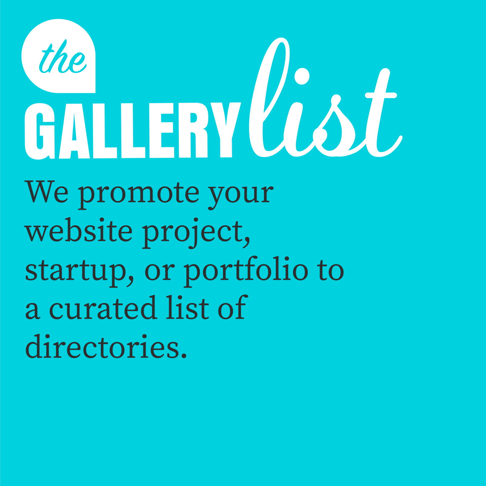 The Gallery list