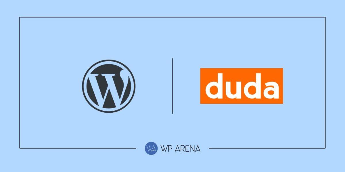 WordPress vs Duda by WpArena