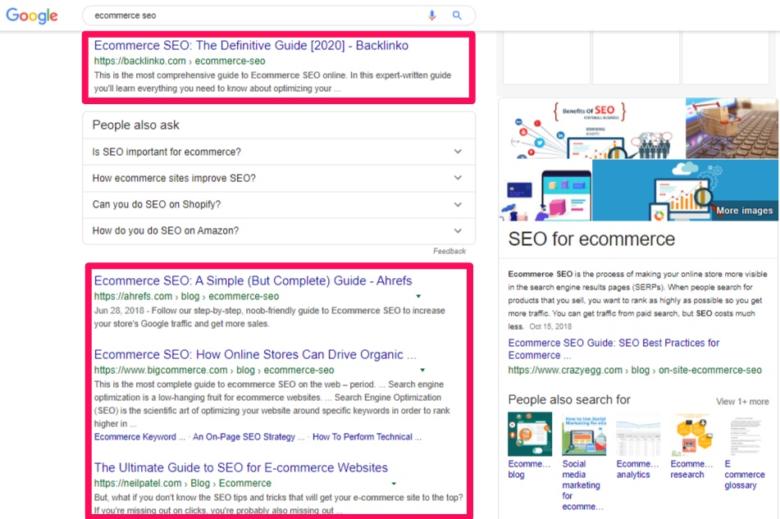 Google search keyword