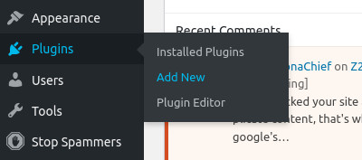 add new plugin button