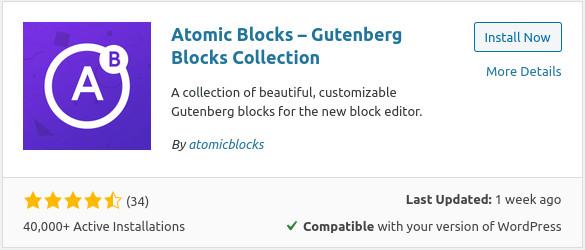 find atomic blocks
