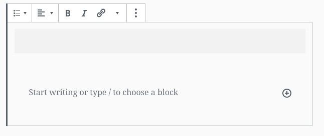 atomic block options
