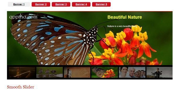 WordPress Photo Gallery with Mac Doc Effect